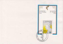 Slovenia 1996 Visit Pope John Paul II M/s On Cover Ca Ljubljana (41923) - Slovenië