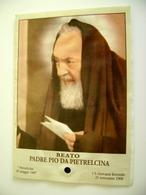 PADRE PIO DA PèETRALCINA     RELIQUIA  Relique Relic Shrine RELIQUAIR SANTO    IMAGE PIEUSES - Devotion Images