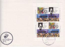 Slovenia 1995 50Y UNO M/s On Cover (41924) - Slovenië