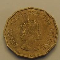 1964 - Jersey - ONE FOURTH Of A SHILLING, Elizabeth II, KM 25 - Jersey