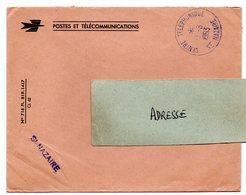 LOIRE ATLANTIQUE - Dépt N° 44 = St NAZAIRE CENTRE TELEPHONIQUE 1963 = CACHET A8 + FRANCHISE - Marcophilie (Lettres)