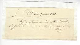 Duc Armand-Emmanuel Du Plessis De Richelieu (1766-1822) AUTOGRAPHE ORIGINAL AUTOGRAPH 1815 /FREE SHIP. R - Autographs
