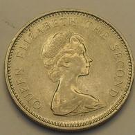 1968 - Jersey - FIVE NEW PENCE, Elizabeth II, KM 32 - Jersey