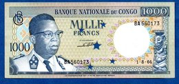Congo  -  1000 Francs 1/8/1964 - Congo