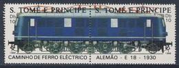 Sao Tomé E Principe 1988 Mi 1049 /0 ** E-18 German Railroad (1930) / E-18 Deutsche Bahn (1930) - Treinen