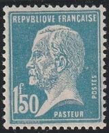 Année 1923-1926 - N° 181 - Pasteur - 1 F. 50 Bleu - Neuf - Cote : 25 € - 1922-26 Pasteur