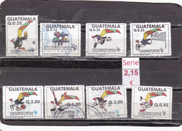 Guatemala  -  Lote  8  Sellos Diferentes     - 2/1038 - Guatemala