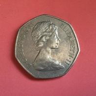 GRAN BRETAGNA  - 1981  Moneta 50 NEW PENCE - Elisabetta II - 1971-… : Monete Decimali
