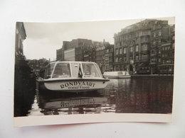 Rondvaart  /  Holland   Photo - Péniches