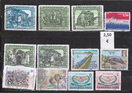 Guatemala  -  Lote  12  Sellos Diferentes     - 2/1052 - Guatemala
