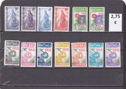 Guatemala  -  Lote  13  Sellos Diferentes     - 2/1069 - Guatemala