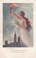 AK - Polen - Patriotika - 1912 - Weiter Nach Vorne Schauen... - Polen