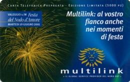 *ITALIA - MULTILINK* - Scheda Usata - GSM-Kaarten, Aanvulling & Voorafbetaald