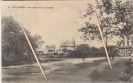De Haan, Coq Sur Mer, Villa Nancy Et La Tourelle, 2 Scans - De Haan