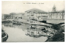 LUNEL - Le Canal -  Voir Scan - Lunel