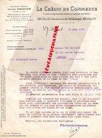 75- PARIS- LETTRE LE CREDIT DU COMMERCE- JULES GRANGER-129 BD. SEBASTOPOL- 1931 - Bank & Insurance