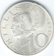 Austria - 10 Schilling - 1972 - KM2882 - Autriche