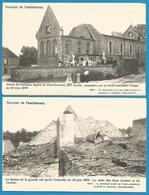 (G076) FAMILLEUREUX - Ruines De L'église Après L'incendie De 1902 - - Seneffe