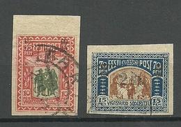 Estland Estonia 1920 Michel 25 - 26 O - Estonia