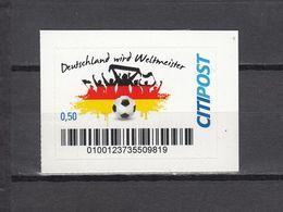 Football / Soccer / Fussball - WM 2014:  Deutschland  Privatpost ** - World Cup
