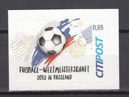 Football / Soccer / Fussball - WM 2018:  Deutschland  Privatpost ** - World Cup