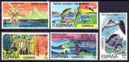 España. Spain. 1978. Proteccion De La Naturaleza. Nature Protection - 1971-80 Ungebraucht