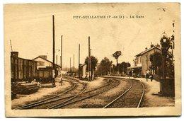 PUY-GUILLAUME - La Gare - Voir Scan - France