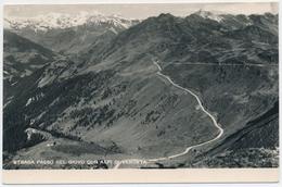 Strada Passo Del Giovo Con Alpi Di Venosta 22.08.1951 - Bolzano (Bozen)