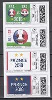 Football / Soccer / Fussball - WM 2018:  Frankreich  Online-Marken (*) - World Cup