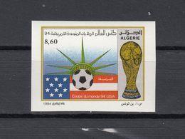 Football / Soccer / Fussball - WM 1994:  Algerien  1 W **, Imperf. - Fußball-Weltmeisterschaft