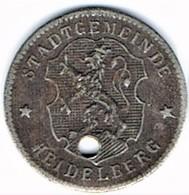 Allemagne - Nécessité - 10 Pf (ND ) HEIDELBERG - Monétaires/De Nécessité