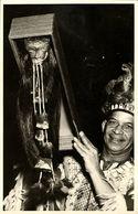 Shrunken Heads Of Jivaro Indians, Upper Amazon River Ecuador (1930s) RPPC - Ecuador