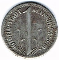 Allemagne - Nécessité - 10 Pf 1919 MANNHEIM - Monétaires/De Nécessité