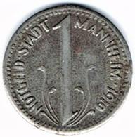 Allemagne - Nécessité - 10 Pf 1919 MANNHEIM - Noodgeld