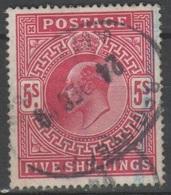 Gran Bretagna 1902 - 5 S.           (g274) - 1902-1951 (Re)