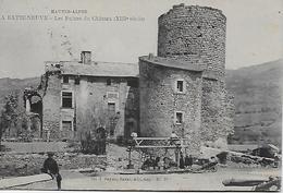 CPA - La Batie Neuve - Les Ruines Du Château (XIII Siècle) Hautes  Alpes -ècrit En 1926. - France