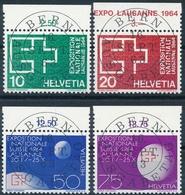 402-405 / 782-785 Serie Mit ET-Vollstempel Und Gummi - Suisse
