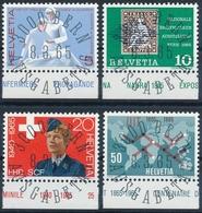 428-431 / 808-811 Serie Mit ET-Vollstempel Und Gummi - Suisse