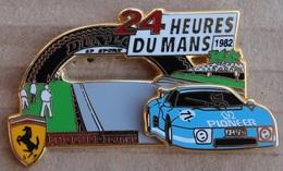 24 HEURES DU MANS 1982 - FERRARI FRANCE BLEUE N° 71 - PIONEER - ARTHUS BERTRAND PARIS -       (ROUGE) - Ferrari
