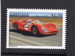 Ferrari Racing Cars  - Ferrari P4  -  Grenada 1v Neuf/Mint/MNH - Automobile