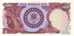 PERSIA P. 108 100 R 1976 UNC - Iran