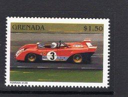 Ferrari Racing Cars  - Ferrari 312B  -  Grenada 1v Neuf/Mint/MNH - Automobile