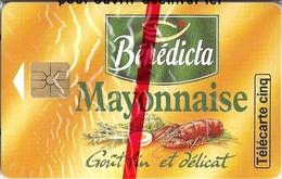 BENEDICTA MAYONNAISE - TELECARTE CINQ - Alimentation