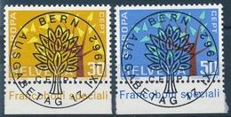 389-390 / 756-757 Serie Mit ET-Vollstempel Und Gummi - Suisse