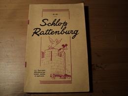 SCHLOSS RATTENBURG. LIVRE EN ALLEMAND TRADUIT EN FRANCAIS. CLASSES DE GERMANISTES MENTOR. ILLUSTRATIONS DE MARCEL JEANJ - School Books