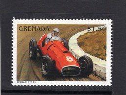 Ferrari Racing Cars  - Ferrari 125 F1  -  Grenada 1v Neuf/Mint/MNH - Automobile