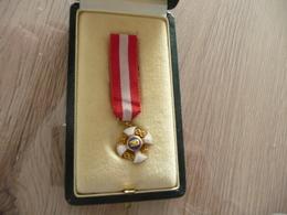 Miniature à Identifier Couronne Aigle Dorée émail - Médailles & Décorations