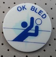Volleyball Club OK BLED  Slovenia Pin Badge - Voleibol