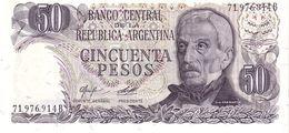 Argentina P.301b 50 Pesos 1978 A-unc - Argentina