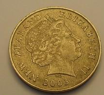 2003 - Nouvelle Zélande - New Zealand - TWO DOLLARS, Elizabeth II, KM 121 - Nouvelle-Zélande